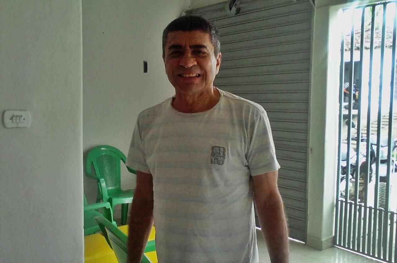 José Muniz Gama está internado no HRM — © Reprodução