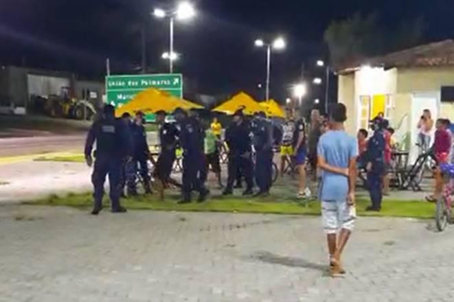 Jovem foi detido por agentes da Guarda Civil Municipal — © Reprodução