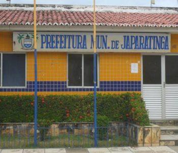 Prefeitura Municipal de Japaratinga — © Reprodução