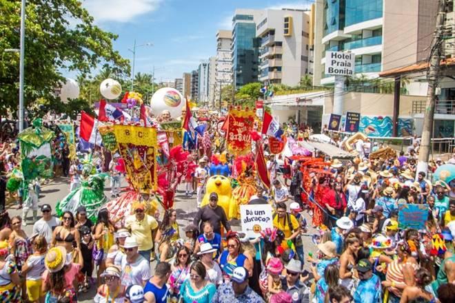 Prévias de Carnaval em Maceió (fevereiro de 2019) — © Tribuna Hoje