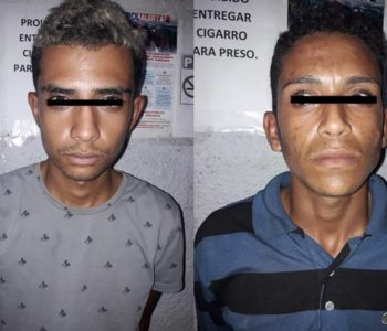 Suspeitos permanecem presos na 11ª DRP à disposição da Justiça — © Cortesia ao BR104