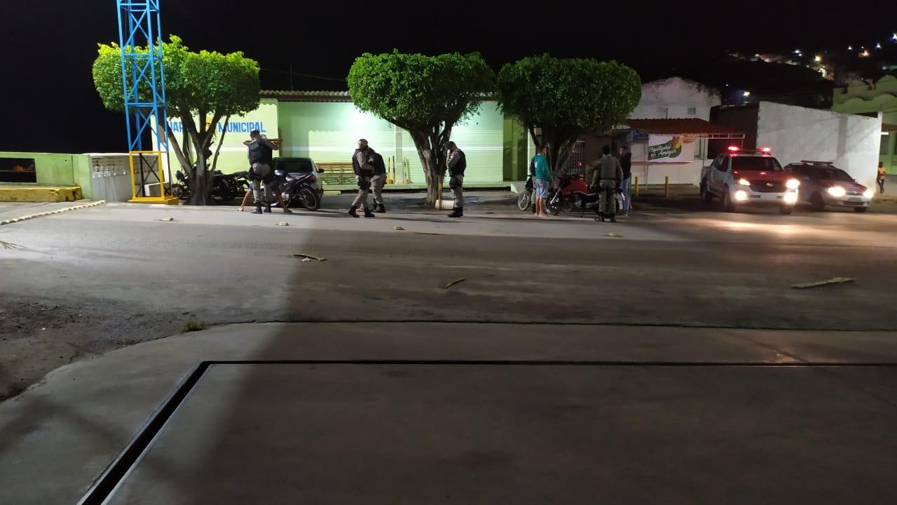 Operação policial em São José da Laje — © Reprodução