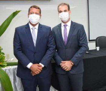Prefeito Olavo Neto (MDB) e o vice-prefeito Remi Filho (MDB) - @Jailson Colácio
