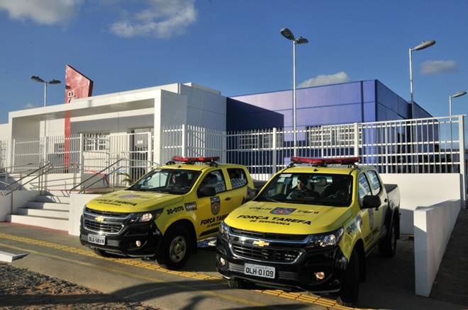 Centro Integrado de Segurança Pública de Murici — © Agência Alagoas