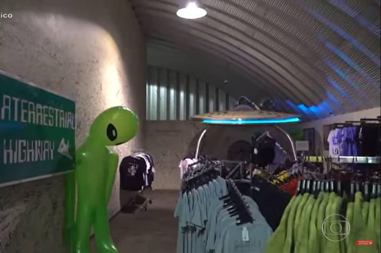 Empresário já gastou com pesquisas sobre fenômenos paranormais e buscas por vida extraterrestre, por exemplo — © Reprodução/TV Globo