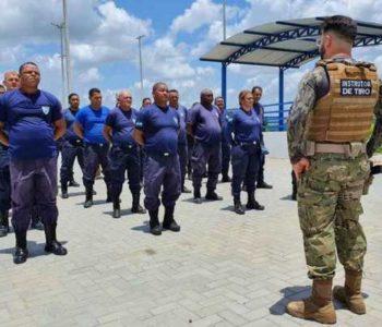 Treinamento dos guardas municipais de Murici – © Assessoria