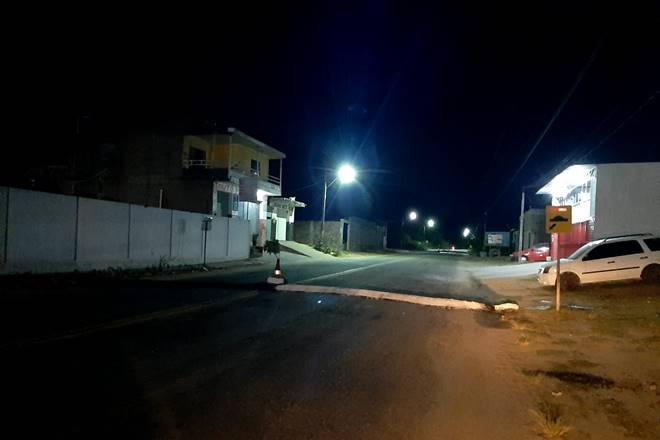 Local onde aconteceu o acidente — © BR104