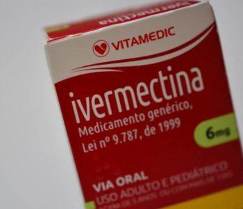 Na foto, caixa de comprimidos da ivermectina (vermífugo) — © Reprodução