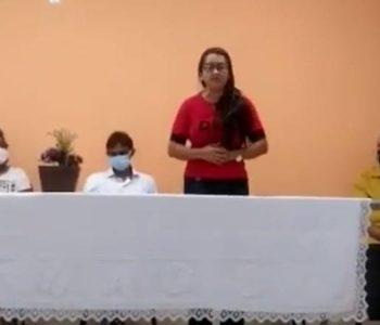 """Secretária de Educação chama secretária de Assistência Social de """"pilantra"""" — © Reprodução"""