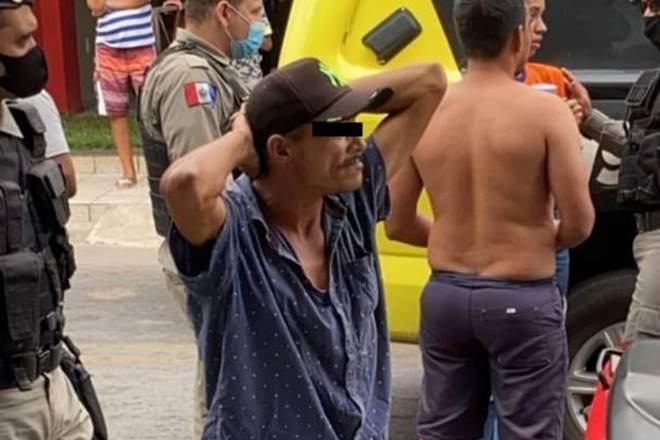Suspeito de roubo a loja é preso em União dos Palmares — © Reprodução