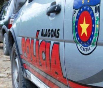 Viatura da Polícia Militar de Alagoas — © Reprodução