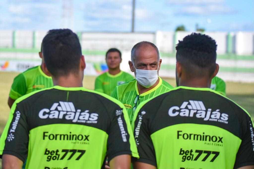 Preparação do Murici FC para 2ª rodada do Alagoano — © Reprodução