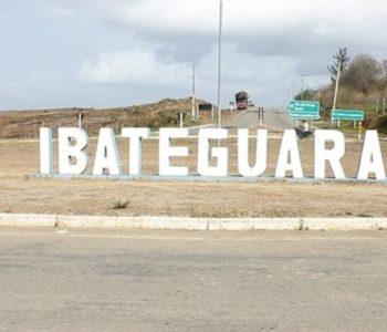 Entrada da cidade de Ibateguara — © BR104