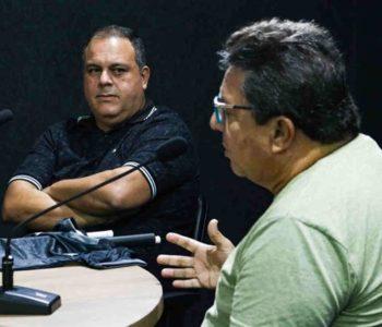 Luciano Peixoto e Wellington Martins — © BR104