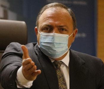 Ministro da Saúde Eduardo Pazuello - @reprodução