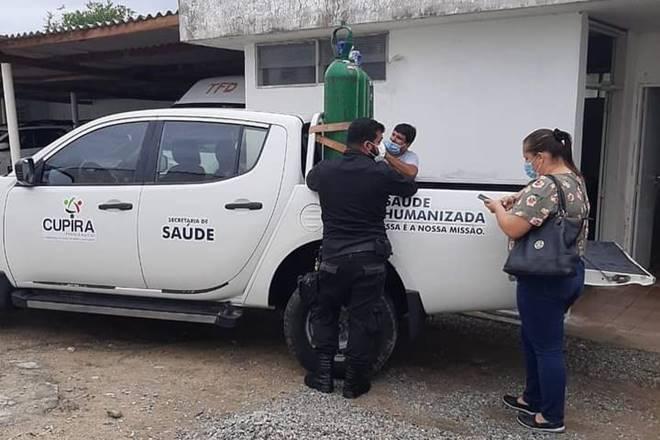 Boatos sobre falta de oxigênio em hospital preocupou população de Cupira (PE) — © Reprodução
