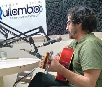 Cantor e compositor Gil de Sá, ícone palmarino da MPB — © Reprodução/Instagram
