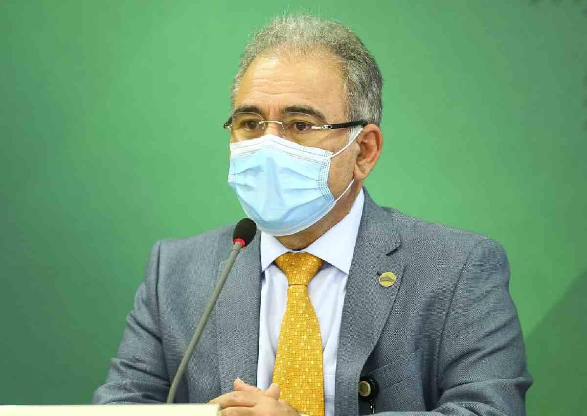 Ministro da Saúde, Marcelo Queiroga — © Agência Brasil