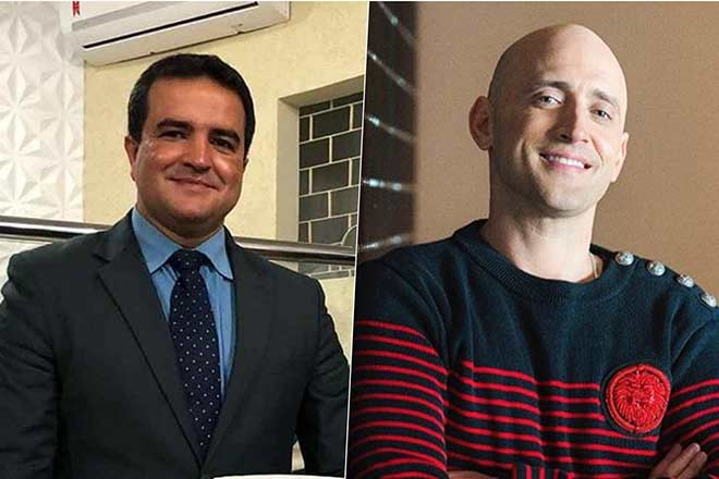 Pastor Jose Olimpio e Paulo Gustavo