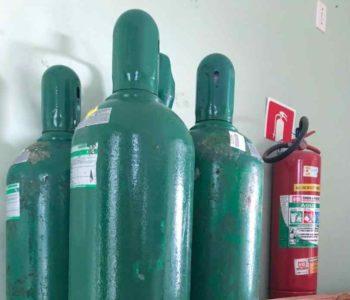 Estoque de oxigênio em Santana do Mundaú - © Reprodução/Assessoria