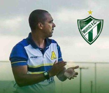 Jadson Oliveira é o novo treinador do Murici – © Assessoria/Murici FC