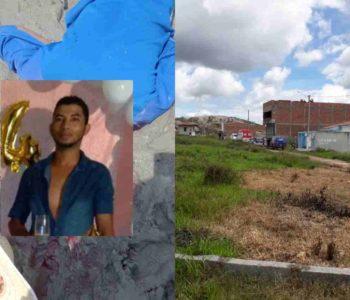 A vítima foi identificada como Adriano Albertino da Silva, de 36 anos — © Cortesia ao BR104