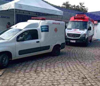 Ambulâncias teriam sido mobilizadas para transferir os pacientes para hospitais referências — © Reprodução