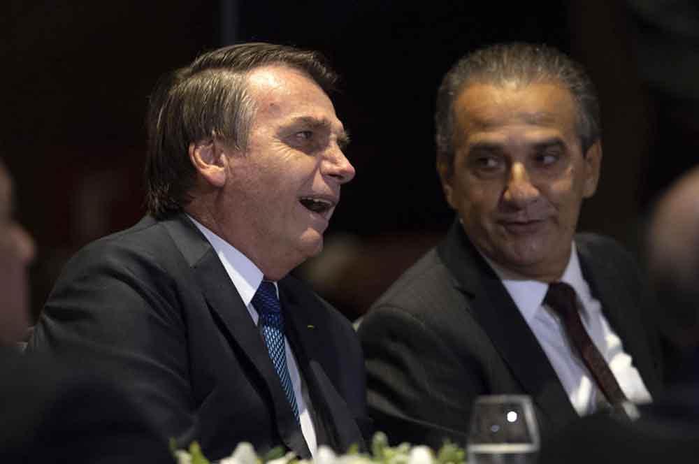 Bolsonaro e Silas Malafaia - reprodução