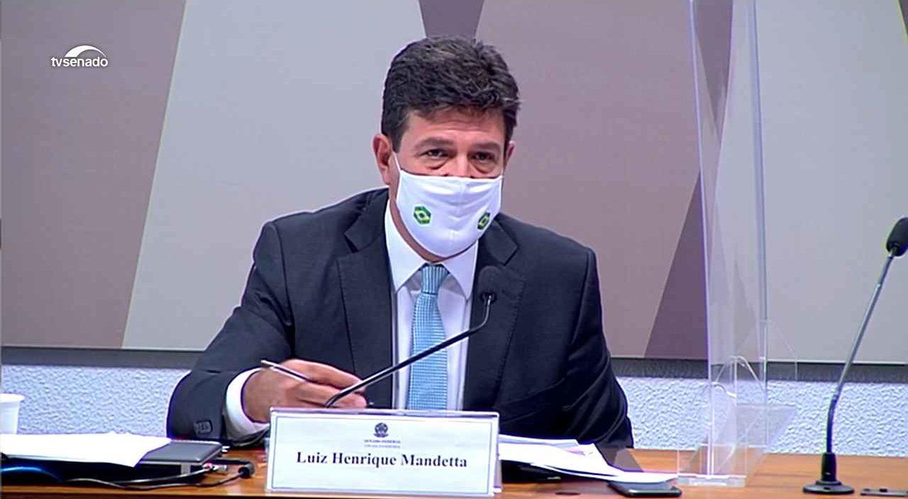 Luiz Henrique Mandetta – © Reprodução/TV senado