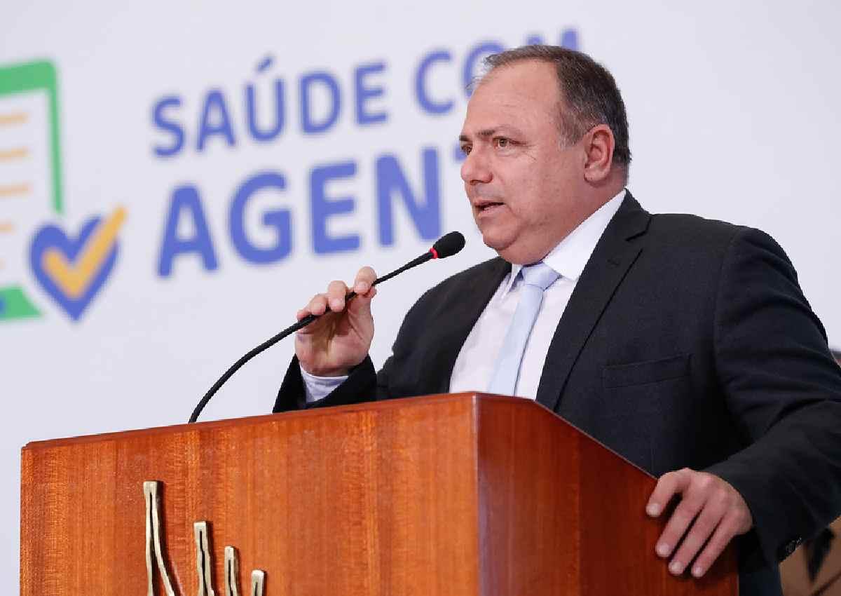 Ex-ministro da Saúde Eduardo Pazuello — © Alan Santos/PR