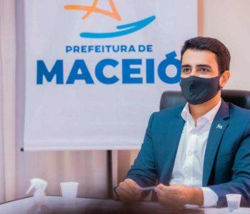 Prefeito de Maceió JHC –© Assessoria
