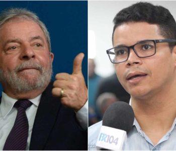 Lula e Sérgio Rogério - @reprodução