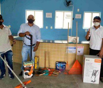 Infraestrutura de Branquinha adquire novos equipamentos – © Assessoria