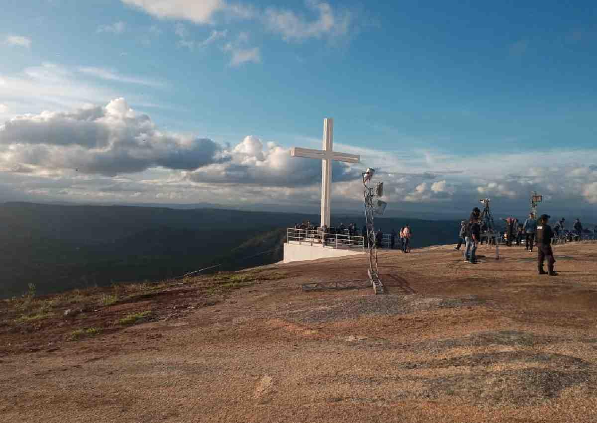 Serra da Bica, local onde ocorreu a 47ª edição do 'Festival Nacional de Jericos de Panelas' — © Eugênio de Lima