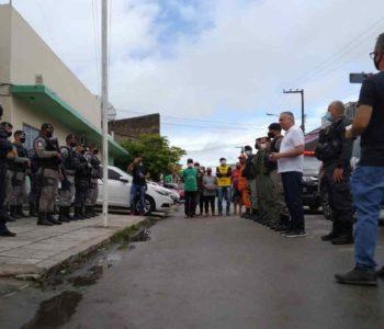 Alfredo Gaspar chega a União dos Palmares para iniciar buscas por idoso desaparecido — © Johny Lucena/BR104