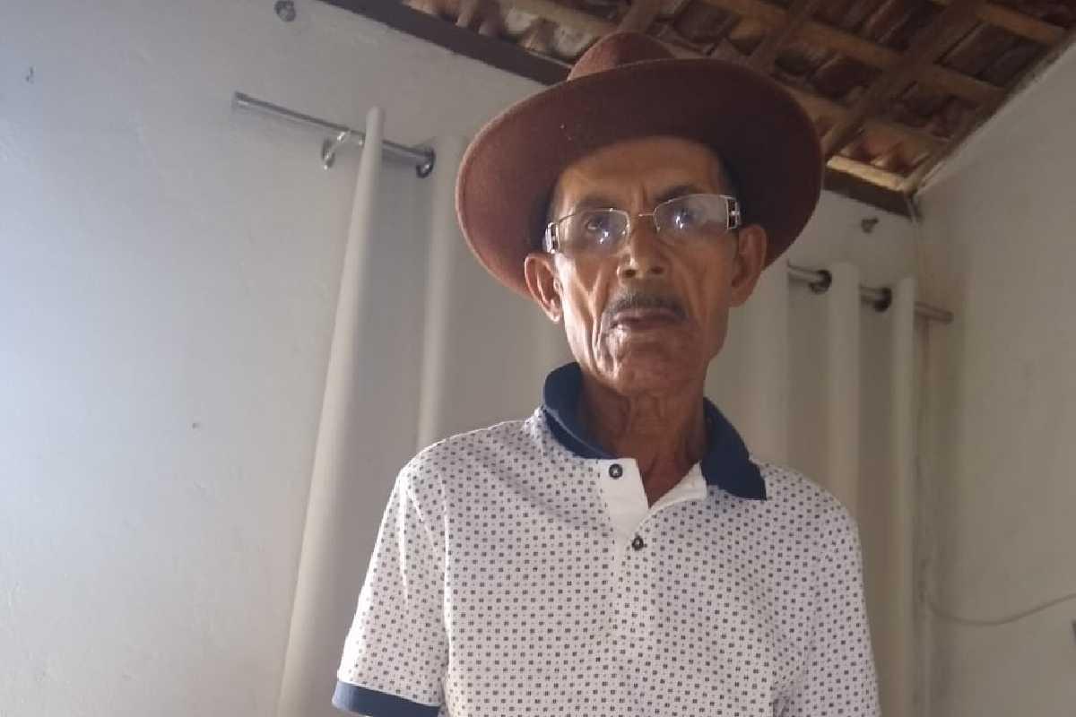 Amaro Silvestre desapareceu e está sendo procurado pela família — © Arquivo Pessoal