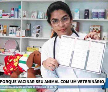 Veterinária Adriana Melo – © Reprodução/BR104