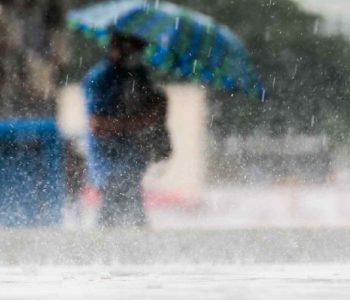 Chuvas podem se estender ate a próxima sexta (18), segundo a Semarh — © Iustração/Marcello Casal Jr./Agência Brasil