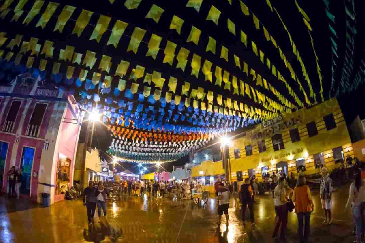Festa de São João nas ruas de Alagoas — © GettyImages