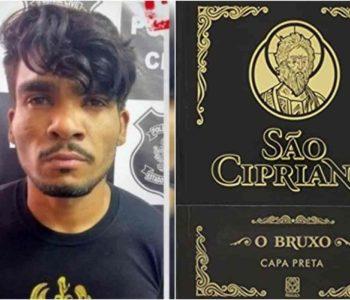 Lázaro Barbosa e o livro de São Cipriano