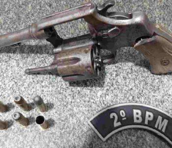 Material apreendido por militares do 2º BPM — © PMAL