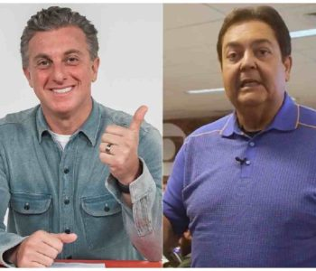Luciano Huck e Fausto Silva (Foto: Reprodução da internet)