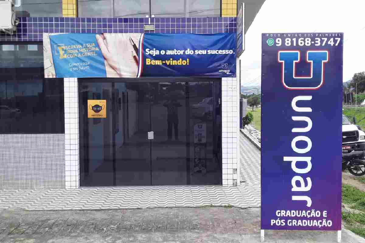 Unopar União dos Palmares — © Cortesia