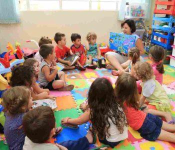 Alunos de escola de Educação Infantil no Espírito Santo — © SECOM-ES