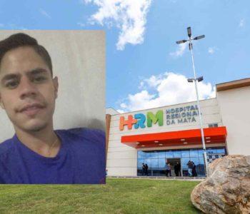 Luandenysson Santos Leite, de 24 anos, sofreu um grave acidente na última quarta-feira (21) © Assessoria/Reprodução