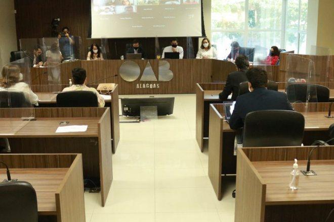 Reunião da OAB-AL - @Divulgação