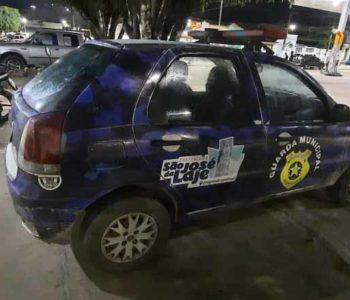 Viatura da Guarda Municipal de São José da Laje
