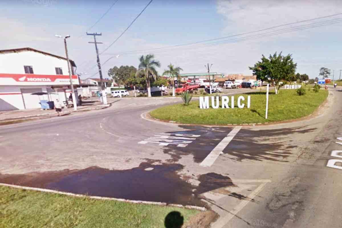 Entrada da cidade de Murici | © Reprodução/Google Maps