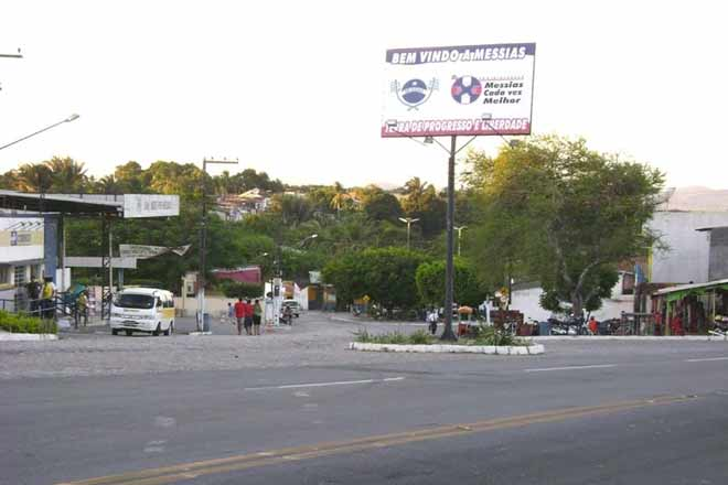Entrada do município de Messias | © Reprodução
