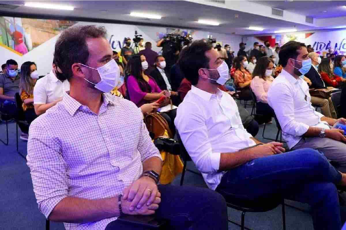 Olavo Neto durante o evento –© Assessoria